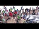 Лыжники отметили закрытие сезона в Сьерра-Неваде катанием в купальниках