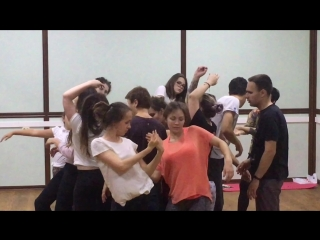 Курс танцевальной импровизации   МК Алёны Айдаровой
