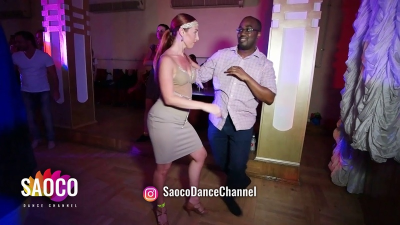 Oseyemen Edeko and Natalya Sirenko Salsa Dancing in Lendvorets at The Third Front, Fri 03.08.2018