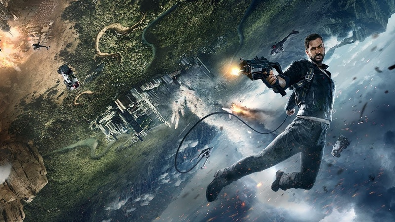 Just Cause 4 Played by Square Enix President Yosuke Matsuda Part 2 PS4 Xbox One PC