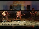 Letum Aevum - Dead Eyes see no Future (Arch Enemy Cover) live
