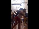 Babacar & Miguel dancing semba @ Saratov kizomba weekend III