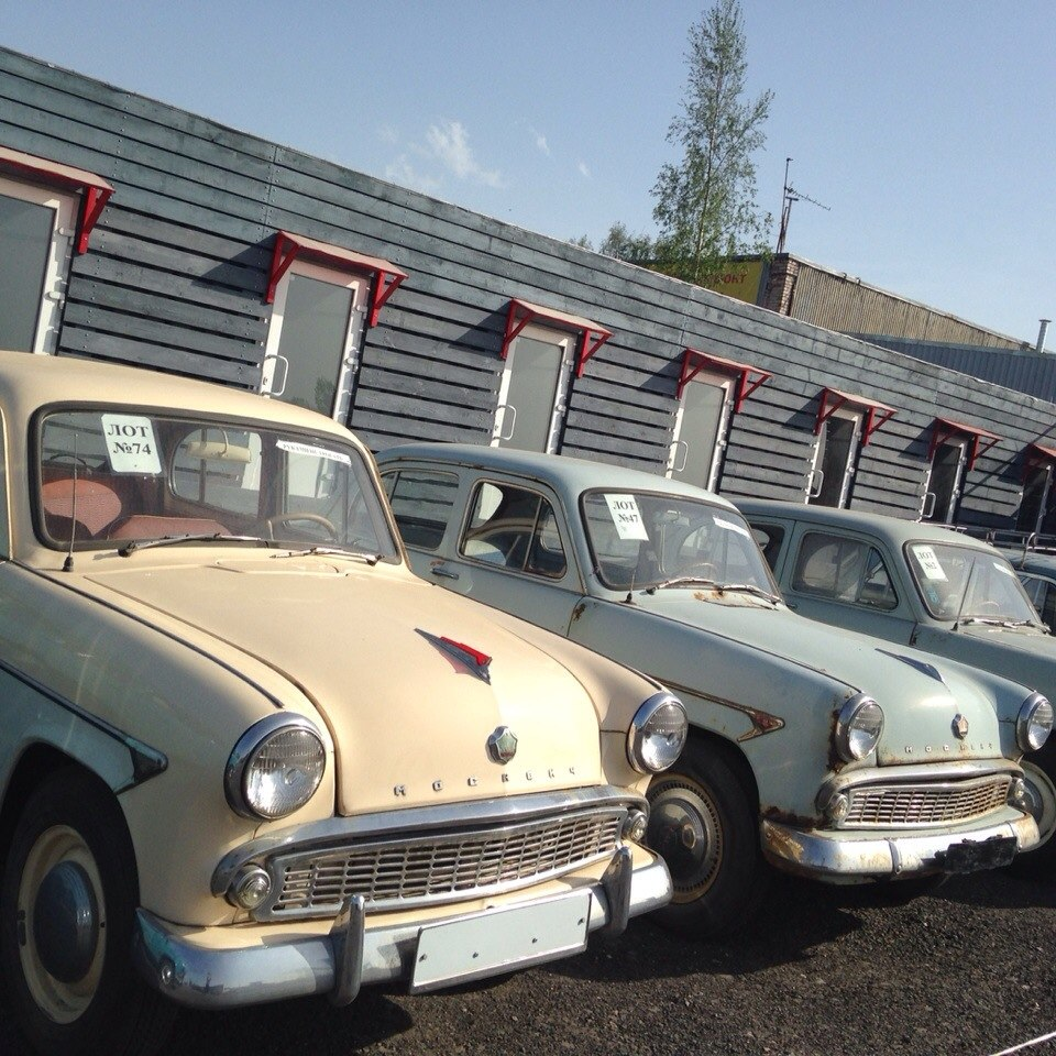 Ретро автомобили в Санкт-Петербурге