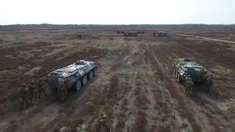 Российско-Блорусские учения ВДВ 2018_Russian-Belarusian exercises of airborne fo