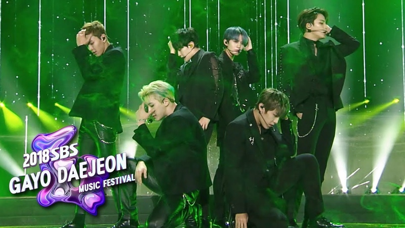 MONSTA XSEVENTEENWanna One - Again and Again [2018 SBS Gayo Daejeon Music Festival]