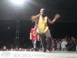SDK 2011 — House Battle, Nikki Sweden vs JK Sanchez Czech, Winner — Street Dance Kemp