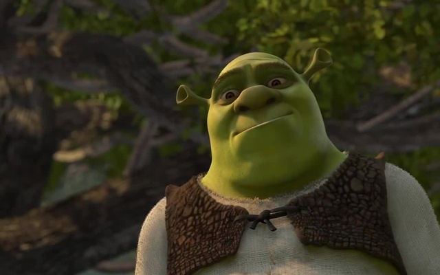 Poor Little Fella - Compassionate Shrek