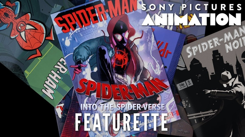 Bringing a Comic Book to Life | SPIDER-MAN: INTO THE SPIDER-VERSE