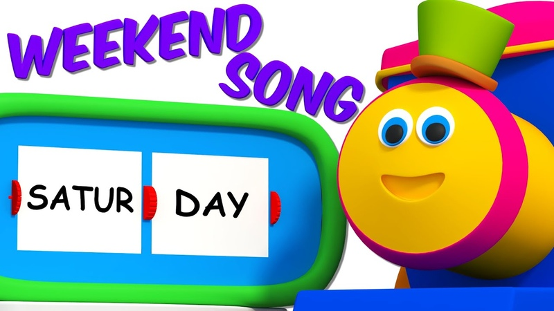 Bob The Train | Weekend Song | 3D Nursery Rhymes For Kids And Childrens by Bob The Train