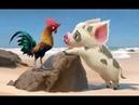Грустный поросенок Пуа ч 1 The sad pig Pua р 1 Amigurumi Crochet Амигуруми