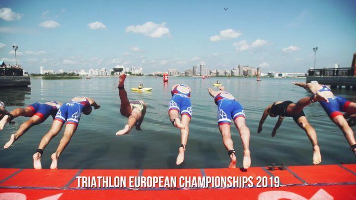 """European Triathlon Union on Instagram """"Great Promo Video Kazan ETU Sprint Triathlon European Championships See you there ! europe triathlon ..."""