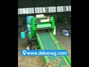 Electric bale wrapper machine