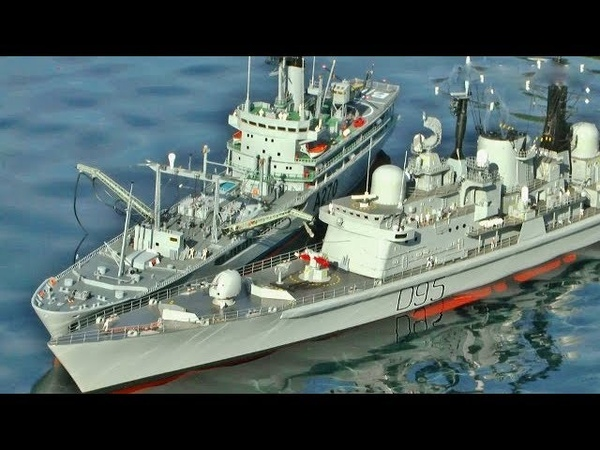 BATTLESHIPS, FRIGATES, WARSHIPS, RC SCALE BOATS AT SOUTHERN HEADCORN MODEL SHOW - 2017