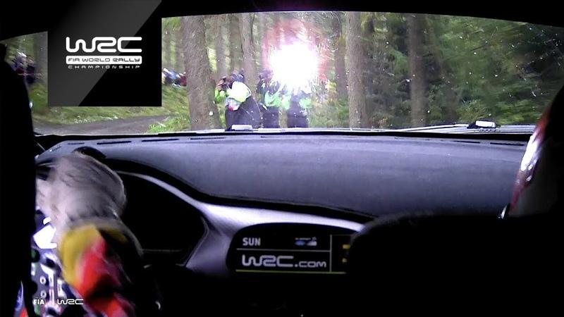 WRC Dayinsure Wales Rally GB 2018 Shakedown ONBOARD Suninen