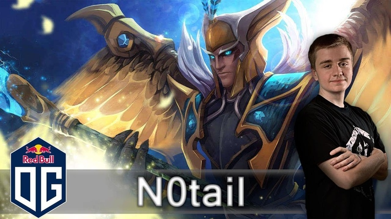 OG.n0tail Skywrath Mage Gameplay - Ranked Match - OG Dota 2.