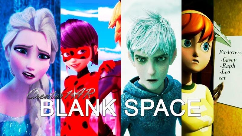 And I'll write your name Blenk Space Elsa is Jealous Jack Frost by Rapunzel TMNT Ladybug FROZEN ♫