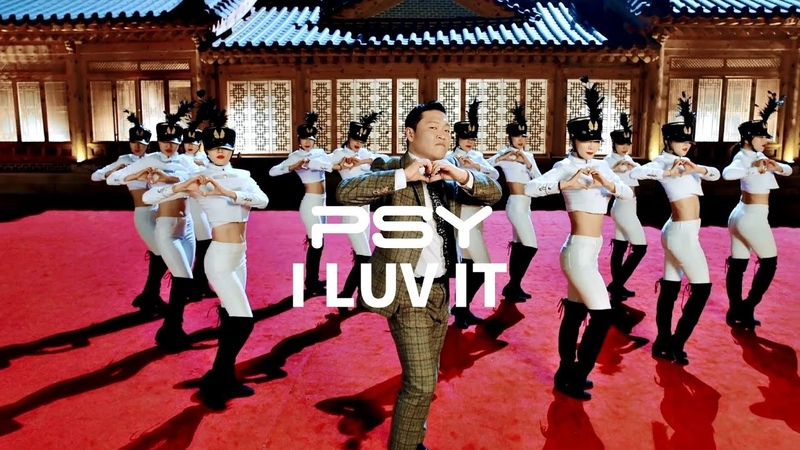PSY - I LUV IT (華納official HD 高畫質官方中字版)