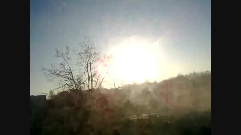 Солнышко погостило в Черноголовке 7 ноября 2018.