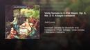 Viola Sonata in E Flat Major Op 5 No 3 II Adagio cantabile