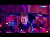 Фантастическая гибкость! Очаровательная девочка-каучук Варвара Гордеева/Синяя птица-Последний богатырь