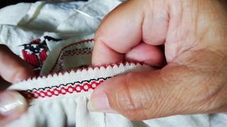 Обробка горловини сорочки. Частина 3.