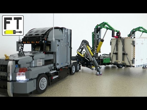LEGO Technic 42078 MOD with pneumatics and RC