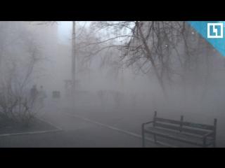 Дом рушится в центре Москвы