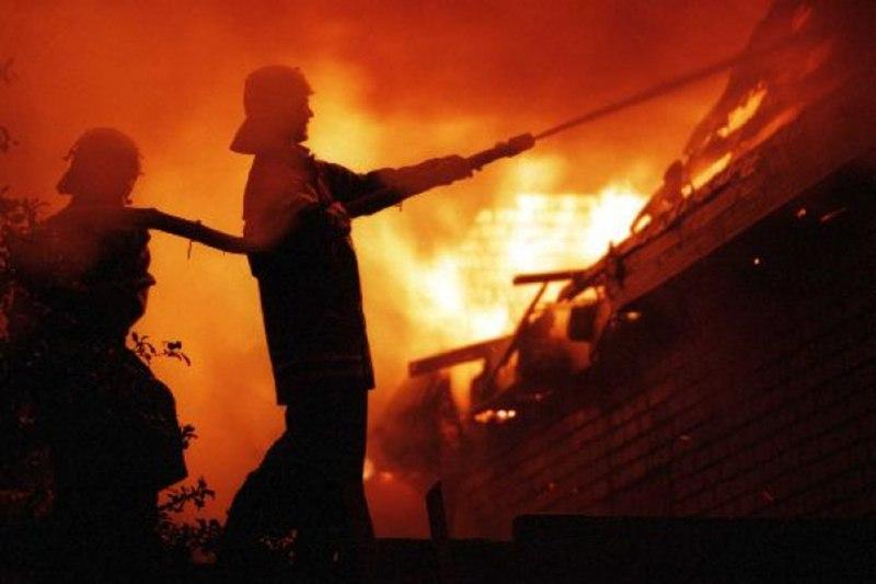 В Архызе сгорел гостевой дом