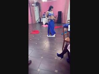 Фрагмент восточного танца на битом стекле... Джавхара... Сызрань...