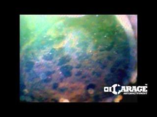 Пример диагностики камеры сгорания эндоскопом LICOTA ATP-3200