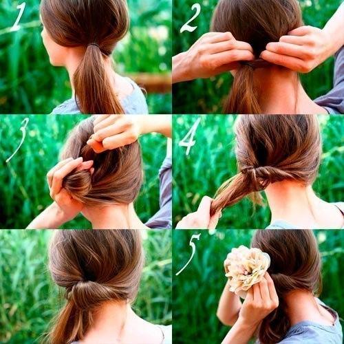 Красивые причёски на длинные волосы фото своими руками
