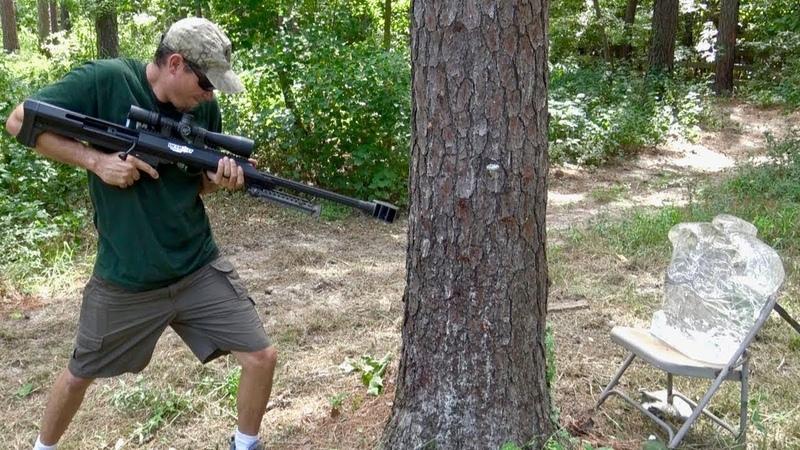 Стреляем сквозь деревья. PUBG в реальной жизни