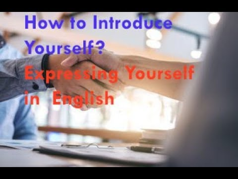 Introduce Yourself( Job Interview Common Question)2018