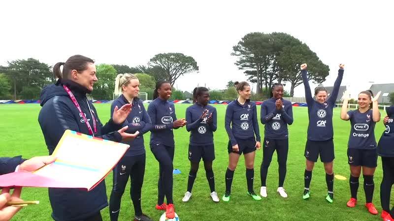 Equipe de France Féminine - tournoi de tennis-ballon pour les Bleues I FFF 2019