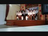 конкурс патриотической песни в СОШ 3 часть 2