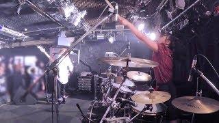 【JUNNA】NoRegret/GIRLS ROCKBAND KAKUMEI/ Drum cam(Live)