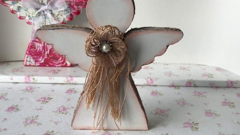ARTESANATO ♥ Decoração com anjos para Home decor ♥