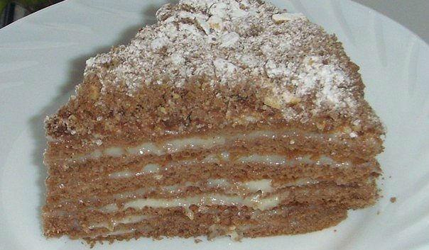 Торт «Пчёлка»