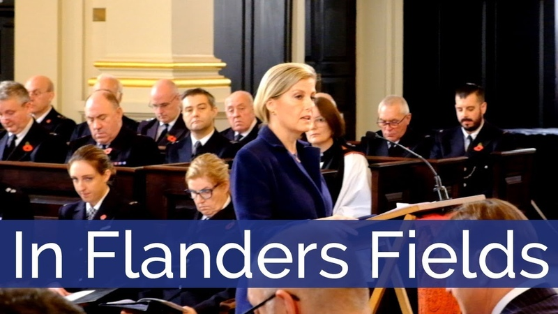 In Flanders Fields - The Countess of Wessex 06.11.2018