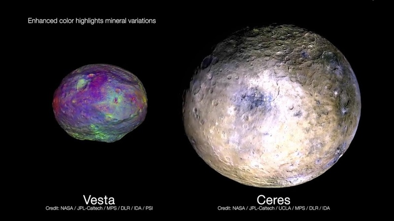 Dusk for Dawn NASA Mission to the Asteroid Belt
