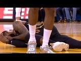 Draymond Green dirty foul on LeBron James / GS Warriors vs Cavaliers Game 1