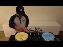 DJ Q.Bert Drumming Routine for Ortofon DJ Tutorial Anniversary