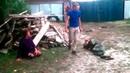 СмешноМахач алкашей в селе Драки в деревне Пьяная драка в селе