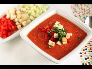 Антипаразитный суп   Гаспачо    Рецепты сыроедения