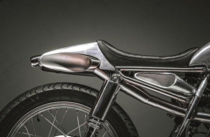 Benjies Cafe Racer: кафе рейсер Yamaha SR400 Lane Splitter 54