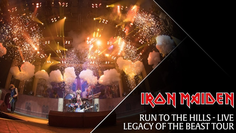 Iron Maiden - Run To The Hills (live from the Legacy Of The Beast tour)