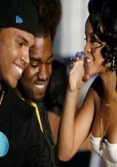 Немного слухов о Rihann'е и Chris'е Brown'е, а также о развитти ситуации с интимной записью Kanye West'а