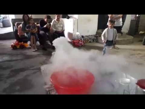 Научное шоу и Крио шоу - На день рождения.