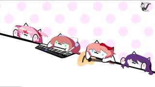 Bongo Cat Doki Doki Literature Club! Version - DDLC