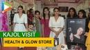 Gorgeous Kajol @Health Glow store at Mumbai Mall